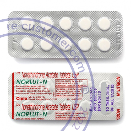Norethindrone to stop bleeding